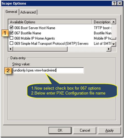 Configuring dhcp server and plain test of auto deployment process
