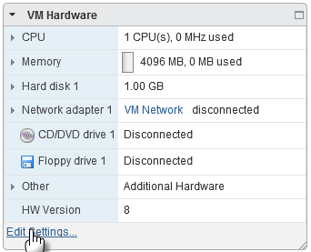 Change Disk Mode to Exclude Virtual Disks from Snapshots in