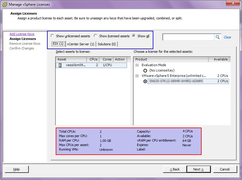 vmware license code